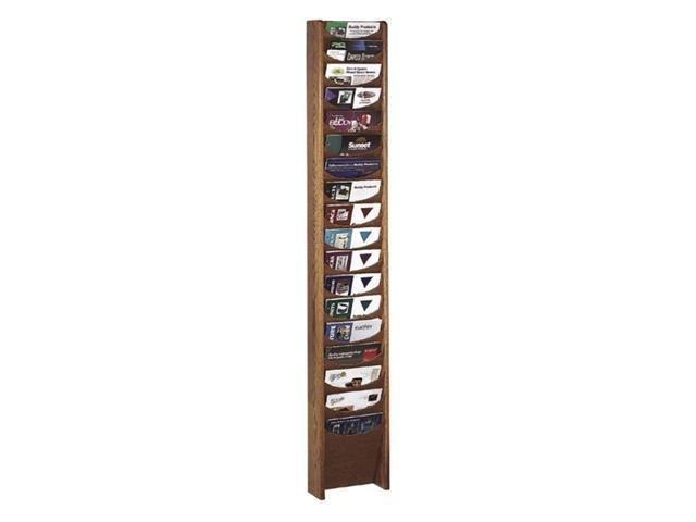 Buddy 18 Pockets Literature Rack 1 EA/CT