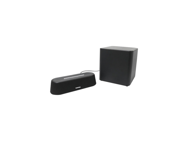 Toshiba PA5075U-1SPA Mini 3D Sound Bar with Subwoofer