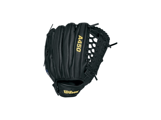 Wilson WTA0450BBJH32  A450 Gaming RH Gloves, 12