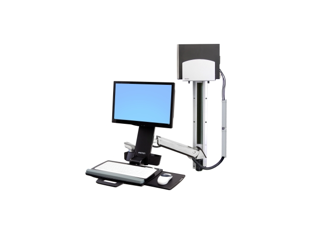 Ergotron StyleView Multi Component Mount for Keyboard, Mouse, Scanner, Flat Panel Display, CPU