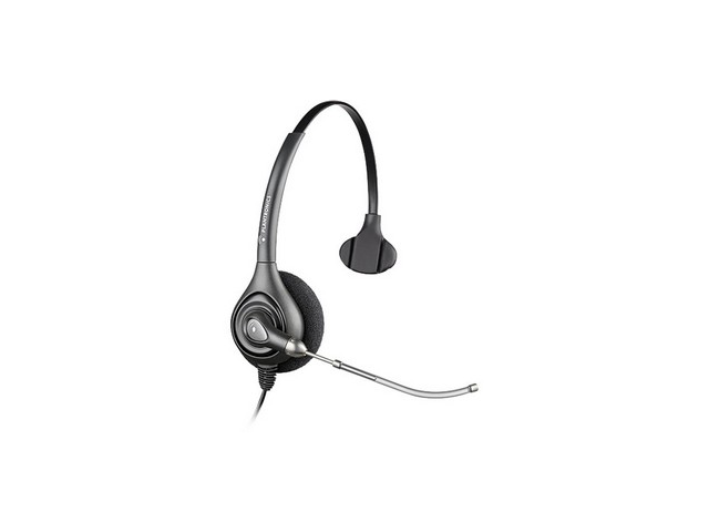 Plantronics SupraPlus Monaural Over-the-Head Wideband Headset