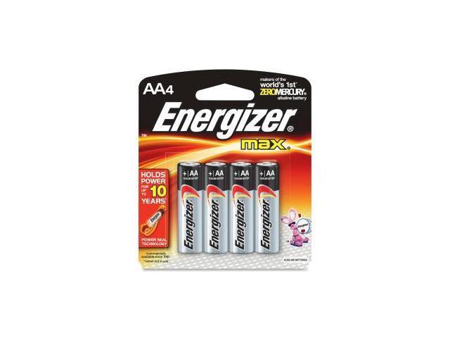 4 Pk, AA Energizer Max Battery E91BP-4
