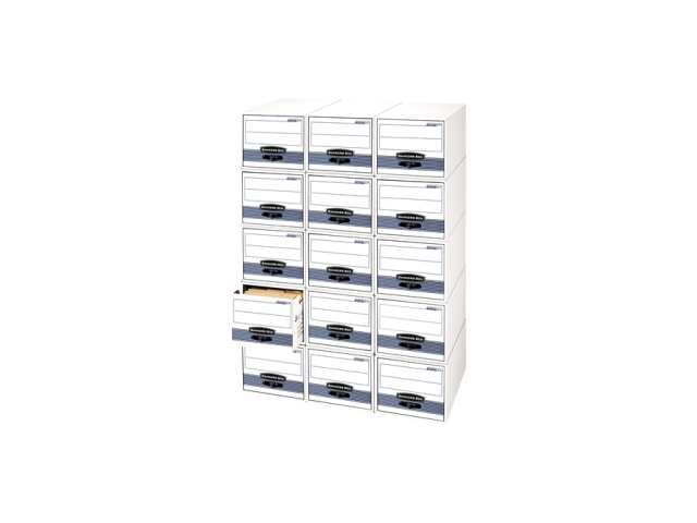Fellowes 00311 Bankers Box STOR/DRAWER STEEL PLUS Extra Space-Savings Storage Drawers