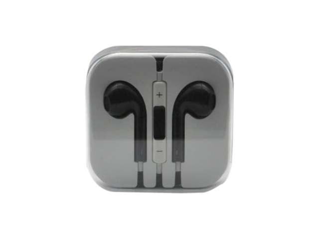 4XEM Black Earphones for iPhone/iPod/iPad