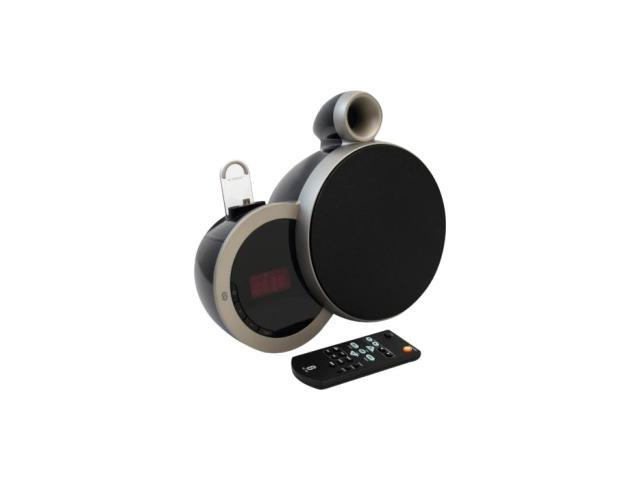 Sherwood DS-N10A Speaker System - 12 W RMS - Wireless Speaker(s) - Black