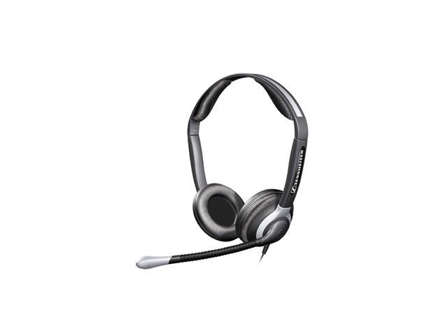 Sennheiser CC 550 Binaural Headset with Xl Ear Cap -005361