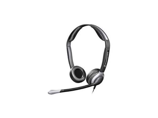 Sennheiser CC 520 Binaural Headset w/Ultra Noise-Canceling Mic and Boom-00538