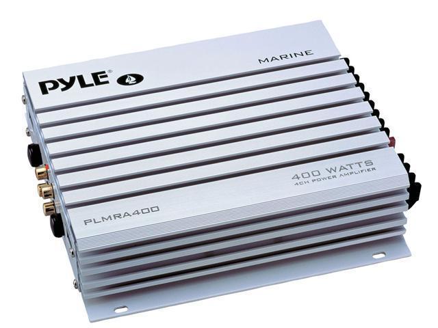 PYLE PLMRA400 Waterproof Marine Amp (400-Watt, 4-Channel)