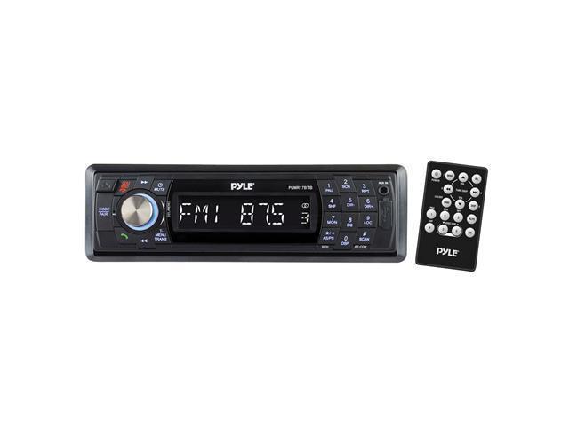 Pyle - AM/FM-MPX In-Dash Marine Detachable Face Radio w/SD/MMC/USB Player & Bluetooth Wireless Technology