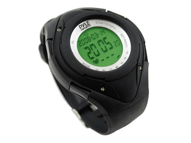 Pyle - Heart Rate Monitor Watch W/Minimum, Average Heart Rate, Calorie Counter, and Target Zones