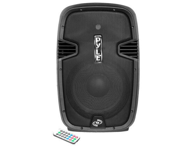 PylePro - Bluetooth 1200 Watt 12'' PA Speaker System, Bi-Amp, 2-Way Full Range, Class-D, Built-in 30 Pin iPod Dock, USB Flash/SD Memory Card Readers, Record Function, Remote Control