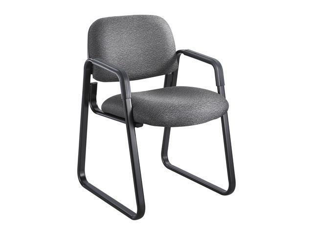 Safco 7047BL Cava Urth™ Sled Base Guest Chair 22 1/2