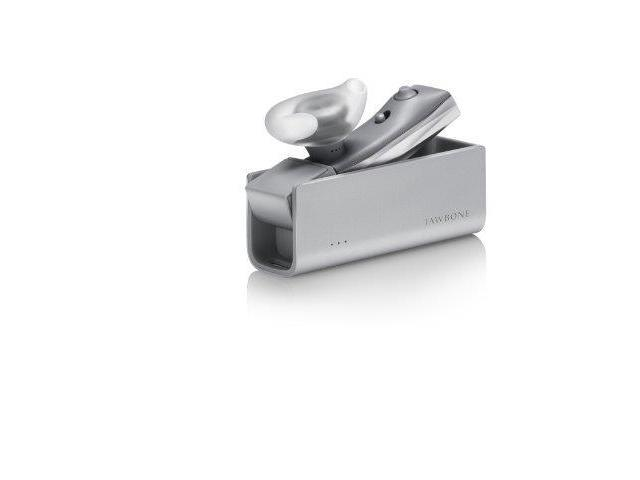 Era By Jawbone Bluetooth Headset With Charge Case - Silver Cross - Retail Packaging