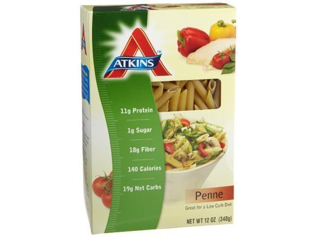 Atkins penne pasta 12 ounce boxes pack of 12 for Atkins cuisine penne pasta 12 oz 340 g