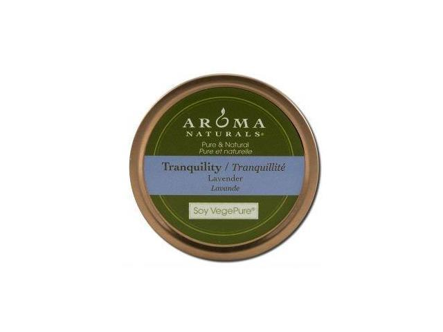 Aroma Naturals Candle Tranquility Soy Vegepure Small Tin, Soy Vegepure Small Tin ct