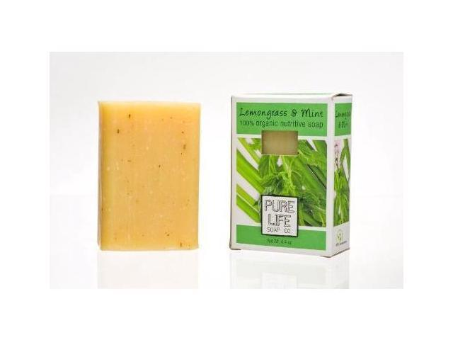 Lemongrass and Mint Bar Soap 4.40 Ounces