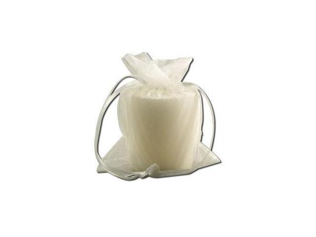 Candle, Votv, Med, White, ct