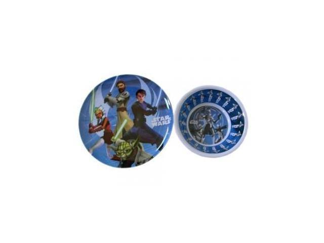 Star Wars Dinnerware Plate and Bowl - 2 Piece Set