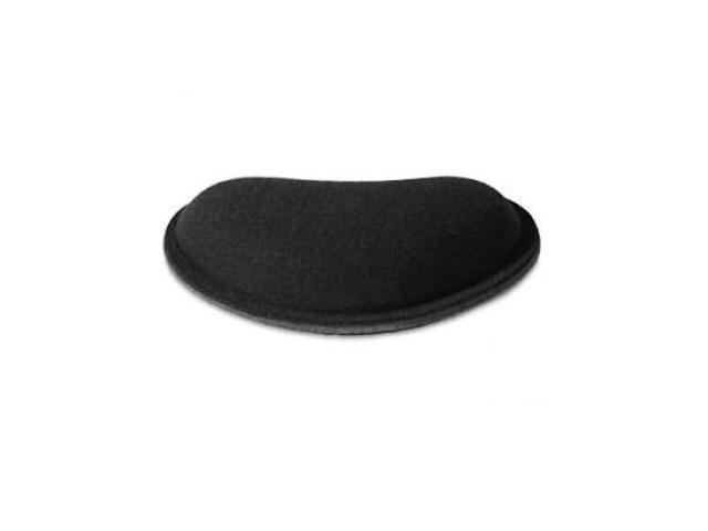 Allsop Memory Foam Wrist Rest Small - Non-skid rubber backing, Black (30213)