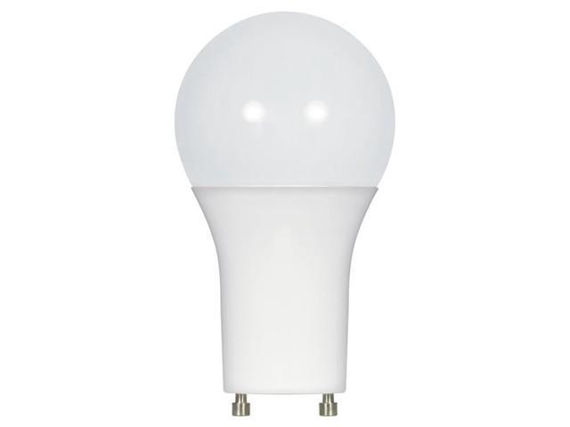Satco 9.5W A19 LED GU24 3500K Neutral White Dimmable - 60W Equiv.