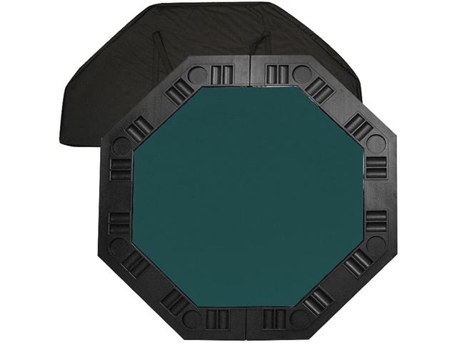 8 Player Octagonal Table top - Dark Green - 48 inch