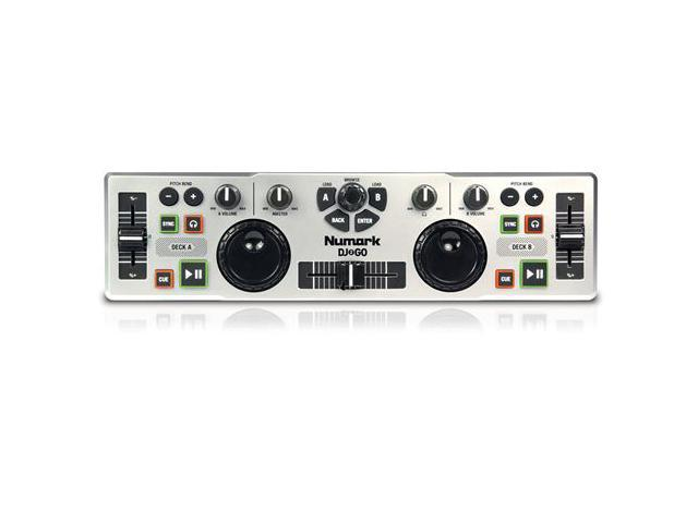 Numark DJ TO GO Ultra Portable USB Controller DJ Computer Control Surface