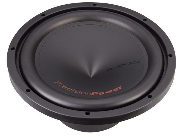 "Precision Power BI.15215"" Dual 2 Ohm Black Ice Series Car Power Subwoofer"