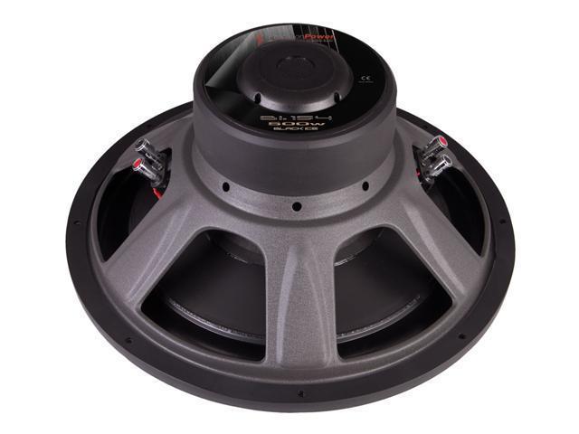 "Precision Power BI.15415"" Dual 4 Ohm Black Ice Series Car Power Subwoofer"
