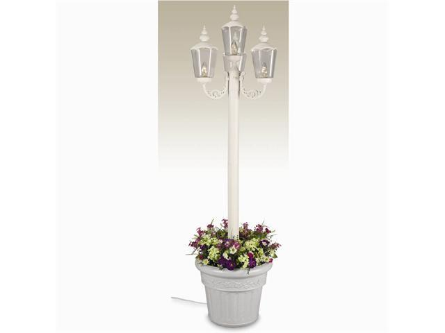 Patio Living Concepts Park Lantern Planter - White