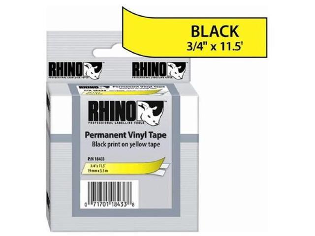 Dymo RhinoPRO 18433 Label Tape, 0.75