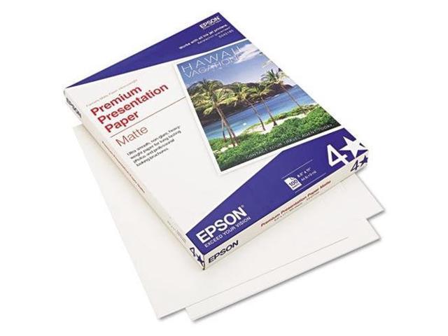 Epson Premium Presentation Paper - Letter - 8.5