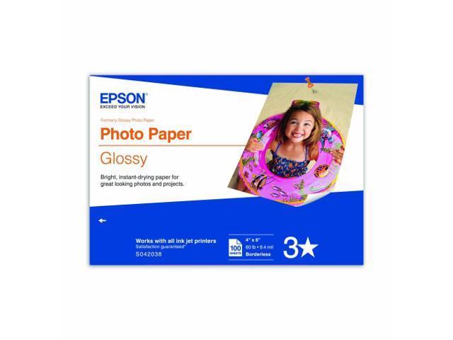 Epson Glossy Photo Paper - 4