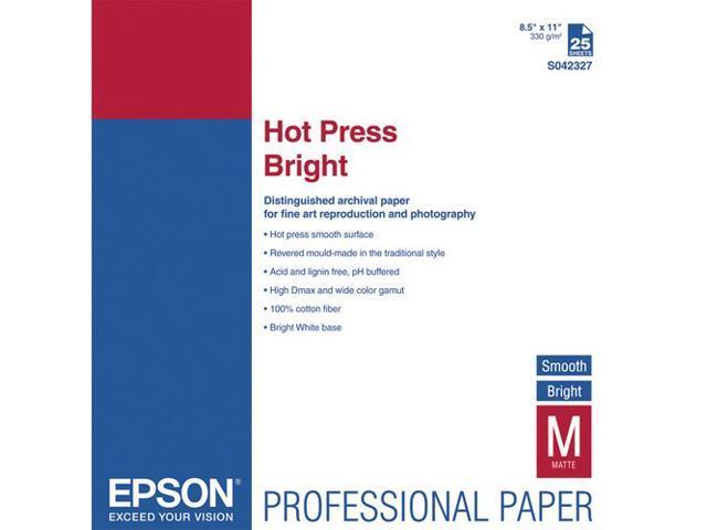 Epson Fine Art Paper - Letter - 8.50