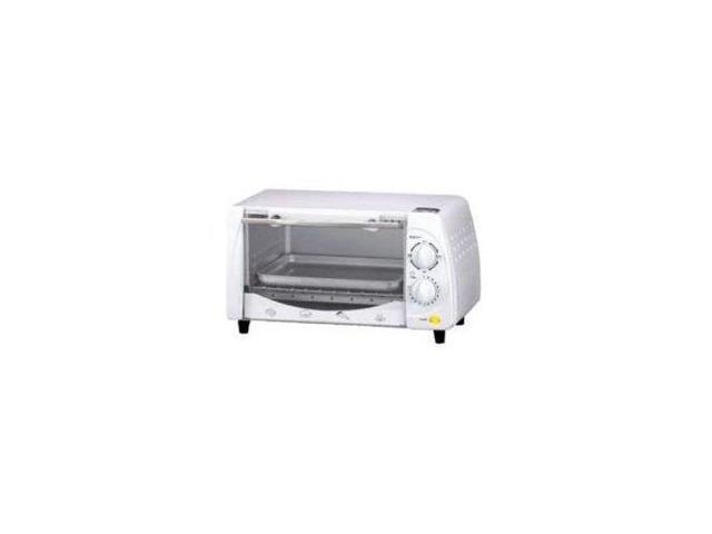Brentwood Toaster Oven - 0.32 ft³ Capacity - Toast, Broil, Bake - White