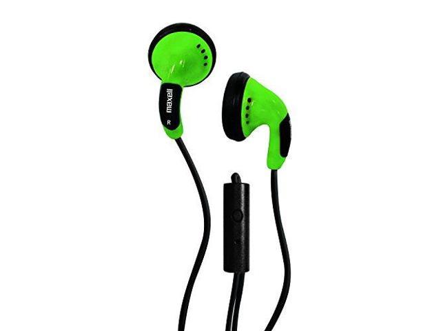 Maxell Green MX196142 Color Buds wMIC
