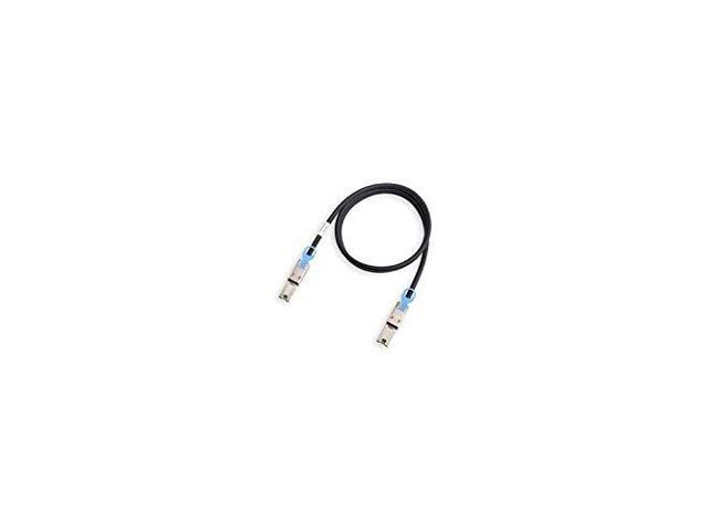 Lenovo 00MJ180 Sas External Cable - 36 Pin 4X Shielded Mini Multilane (M) To 36 Pin 4X Shielded Mini Multilane (M) - 10 Ft - For Storwize V3700, V5000, Storwize V3700
