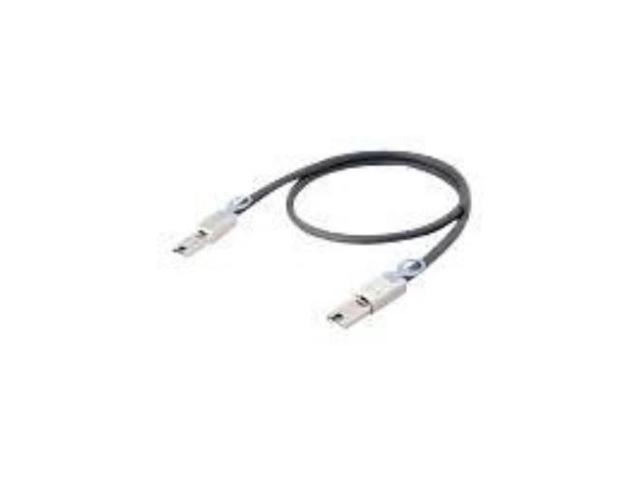 Lenovo 00WE755 Sas External Cable - 26 Pin 4X Shielded Mini Multilane Sas (Sff-8088) - 26 Pin 4X Shielded Mini Multilane Sas (Sff-8088) - 3.3 Ft - For Storage S2200 6411, S3200 6411