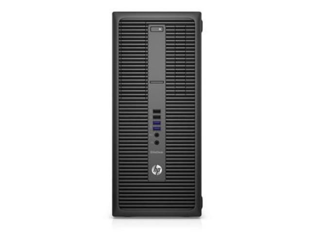 HP Desktop PC EliteDesk 800 G2 Intel Core i7 6th Gen 6700 (3.4 GHz) 4 GB DDR4 500 GB HDD Intel HD Graphics 530 Windows 7 Professional 64-Bit (available through downgrade rights from Windows 10 Pro)