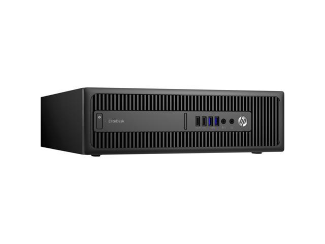 HP Desktop PC EliteDesk 800 G2 Intel Core i5 6th Gen 6500 (3.20 GHz) 4 GB DDR4 128 GB SSD Intel HD Graphics 530 Windows 7 Professional 64-Bit (available through downgrade rights from Windows 10 Pro)