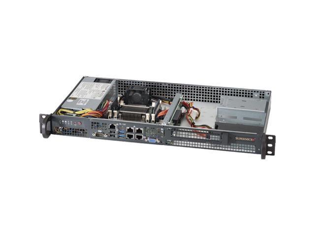 Superchassis Cse 505 203b 200w 1u Rackmount Server