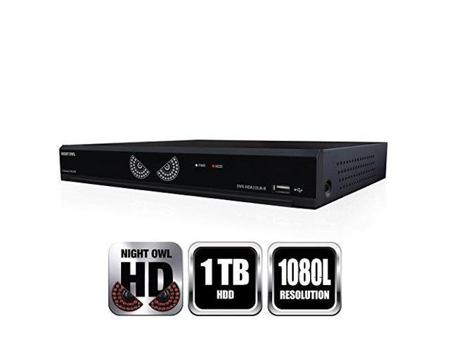 Night Owl 8 Channel 1080 Lite HD Analog DVR With 1TB HDD