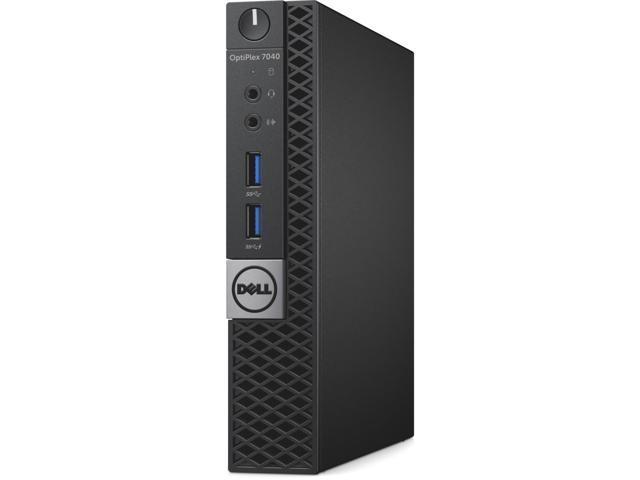 Dell OptiPlex 7040 Desktop Computer - Intel Core i5 (6th Gen) i5-6500T 2.50 GHz - Micro PC
