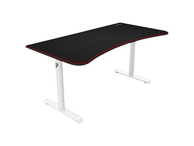 Arozzi Arena Gaming Desk White Newegg Ca
