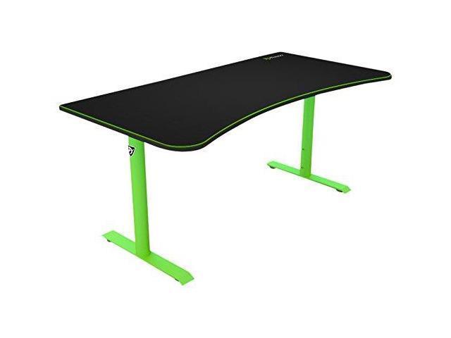Arozzi Arena Gaming Desk Green Newegg Com