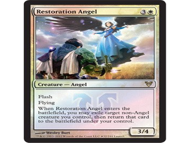 Magic: the Gathering - Restoration Angel - Prerelease & Release Promos - Foil