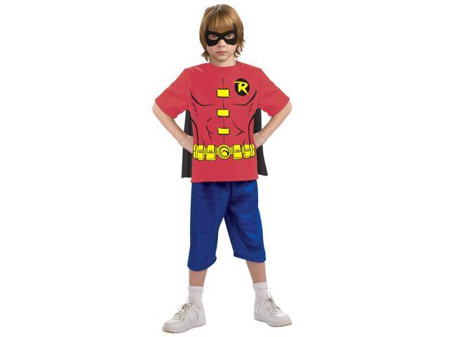 Kids Boys Robin Halloween Costume Tee Shirt Mask & Cape - Newegg.com