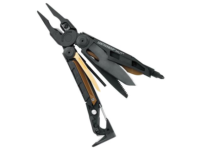 Leatherman LM26812 Mut Military Utility Tool Black Finish Blade Saw & Plier Head