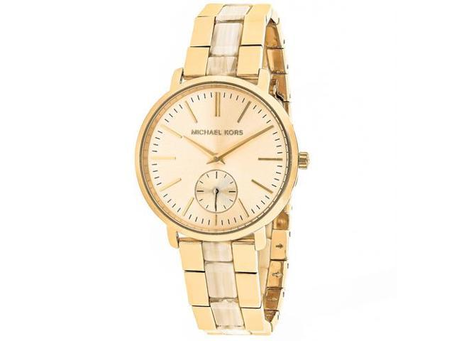 Michael Kors Women's Jaryn Watch Quartz Mineral Crystal MK3510