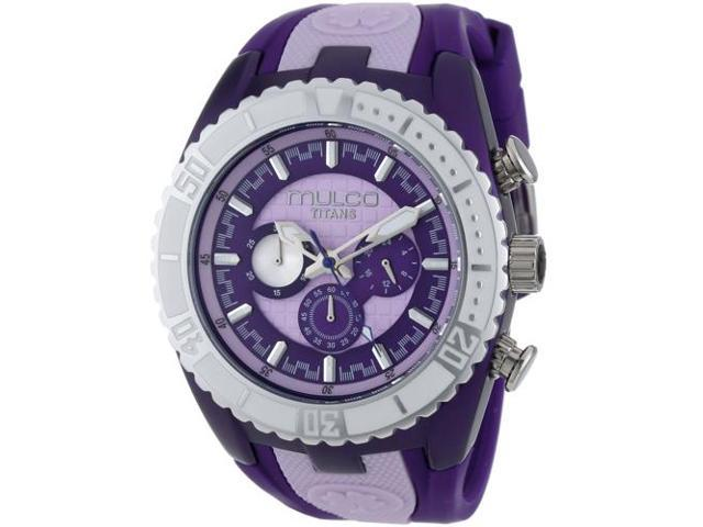 Mulco Women's Titans Wave Watch Quartz Mineral Crystal MW5-1836-051