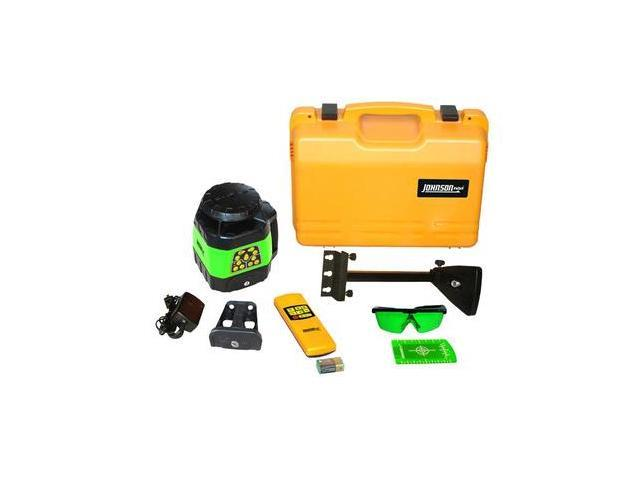 40-6544 Electronic Self-Leveling Horizontal and Vertical Rotary Laser Kit with GreenBrite Technology